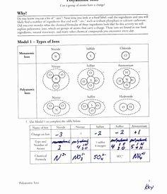 Atoms Vs.ions Worksheet Answers Unique Polyatomic Ions Worksheet Answers – Nice Plastic Surgery