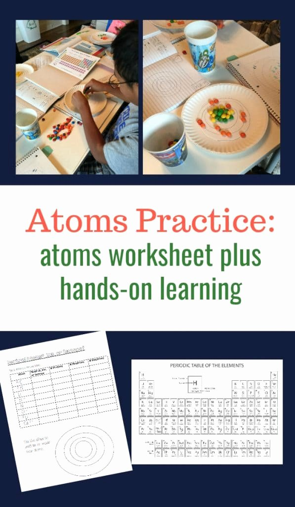 Atoms Worksheet Middle School Inspirational An atoms Worksheet Ideal for Middle School Students