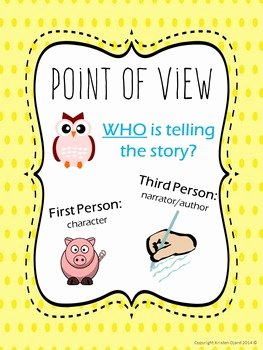 Author Point Of View Worksheet Beautiful Author S Viewpoint and Poin by Kristen Ojard