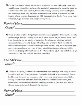 Author Point Of View Worksheet Unique Identifying Author S Point Of View Practice Pack First
