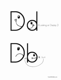 B and D Confusion Worksheet Awesome Taking the Confusion Out Of B and D B and D Letter