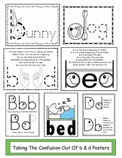 B and D Confusion Worksheet Beautiful Taking the Confusion Out B & D