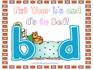 """B and D Confusion Worksheet Elegant Oceans Of Kindergarten Fun Putting the """"b"""" and """"d"""