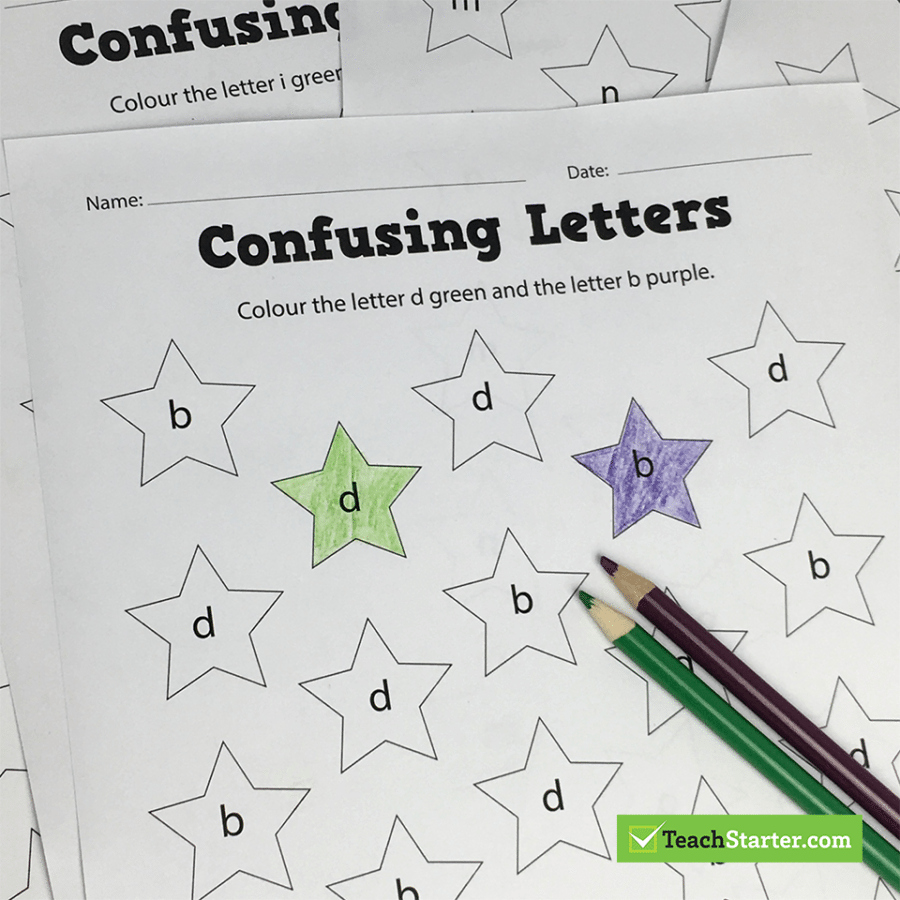 B and D Confusion Worksheet Inspirational 11 Hints and Tips to Help Correct Letter Confusion Letter