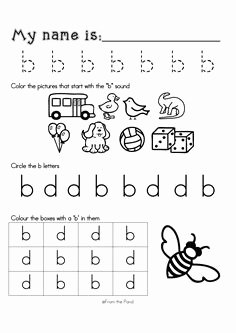 B and D Confusion Worksheet Lovely 1000 Images About B and D Confusion On Pinterest