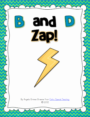 B and D Confusion Worksheet New Extra Special Teaching B and D Confusion or Reversals