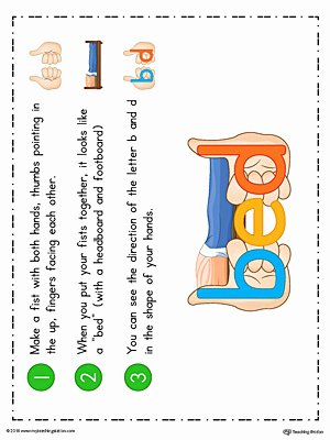 B and D Worksheet Beautiful How to Eliminate B D Letter Reversal