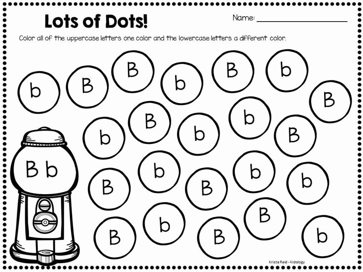B and D Worksheet Fresh Letter Recognition Bingo and Uppercase and Lowercase