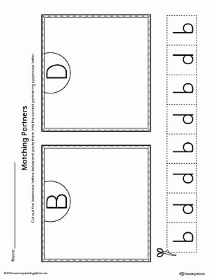 B and D Worksheet Luxury B D Letter Reversal Teaching Poster Using the Word Bed