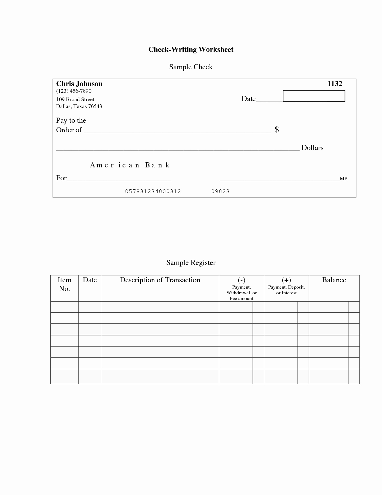 Balancing A Checkbook Worksheet Elegant 12 Best Of Balance Checkbook Worksheet Practice