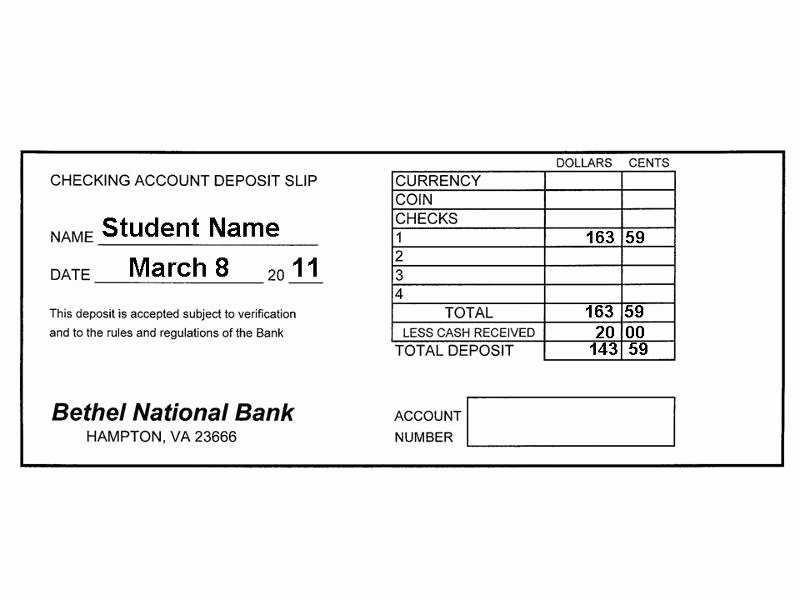 Balancing A Checkbook Worksheet Fresh 14 Best Of Checking Account Balance Worksheet