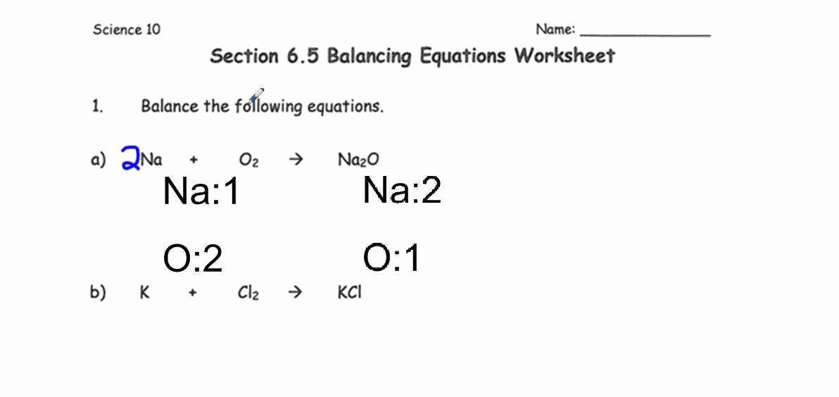 Balancing Act Worksheet Answer Key Lovely Balancing Act Worksheet Answers