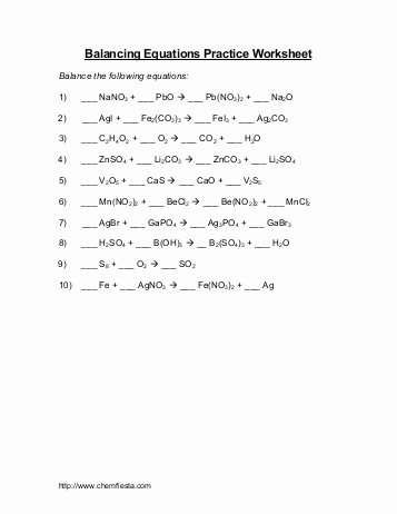 Balancing Act Worksheet Answer Key New Balancing Act Practice Worksheet Answers the Best
