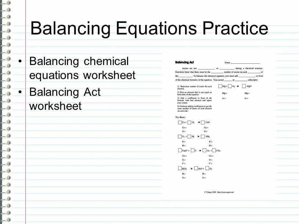 Balancing Act Worksheet Answer Key New Balancing Act Worksheet Answers