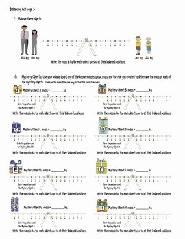 Balancing Act Worksheet Answers Beautiful Phet Balancing Act Activity Guide by James Gonyo