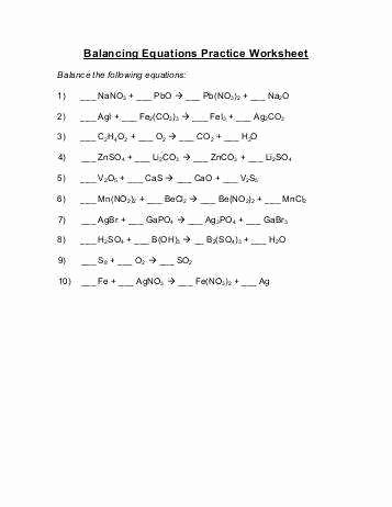 Balancing Act Worksheet Answers Luxury Balancing Act Worksheet Answers