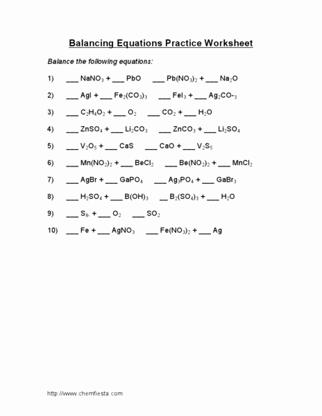 Balancing Chemical Equations Worksheet 1 Beautiful Balancing Maths Equations Worksheet Ks2 Balancing