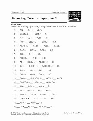 Balancing Nuclear Equations Worksheet Fresh Vcc Lc Worksheets Chemistry – Chemistry 0861 0871