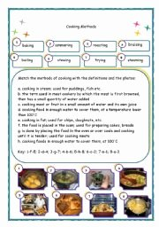 Basic Cooking Terms Worksheet Answers Beautiful English Teaching Worksheets Cooking