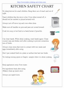 Basic Cooking Terms Worksheet Awesome Kitchen tools Worksheet Kids Cooking Printables