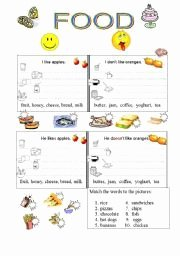 Basic Cooking Terms Worksheet Beautiful Basic Englsih Vocabulary 8 Meat & Daily Products