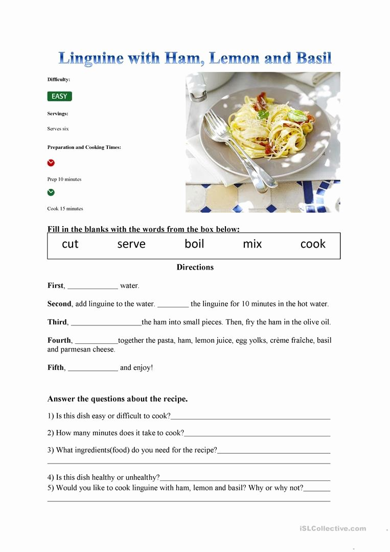 Basic Cooking Terms Worksheet Lovely Worksheet Basic Cooking Terms Worksheet Grass Fedjp