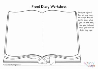 Before the Flood Worksheet Lovely Extreme Weather Diary Worksheets