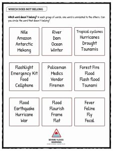 Before the Flood Worksheet Luxury Flood Facts Worksheets & Information for Kids