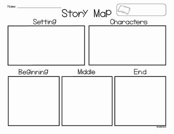 Beginning Middle End Worksheet Awesome Freebie Story Map Setting Characters Beginning