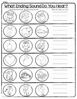 Beginning Middle End Worksheet Elegant 12 Best Of Middle sound Worksheets Middle Vowel