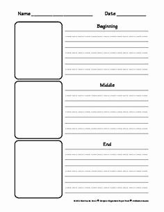 Beginning Middle End Worksheet Elegant 58 Beginning Middle End Worksheet Beginning Middle End