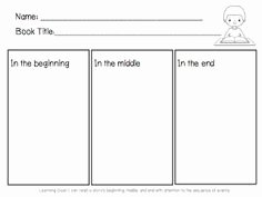 Beginning Middle End Worksheet Elegant Beginning Middle End Worksheet the Best Worksheets Image