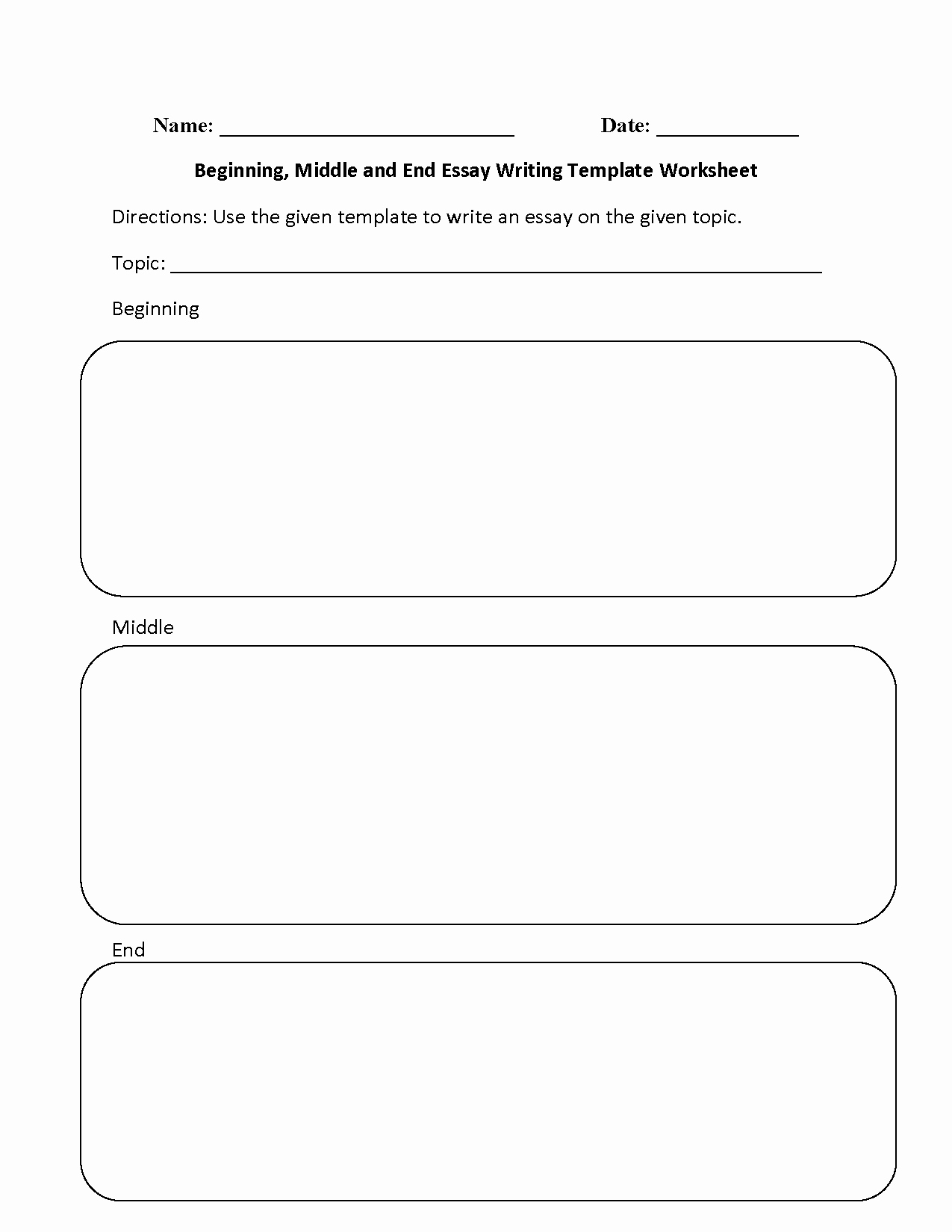 Beginning Middle End Worksheet Lovely Writing Worksheets