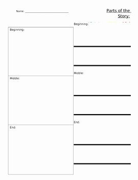 Beginning Middle End Worksheet Luxury Beginning Middle and End by Jordan S Jungle Of