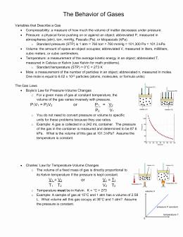 Behavior Of Gases Worksheet Best Of Dalton S Law Of Partial Pressures Worksheet Mhs Pre