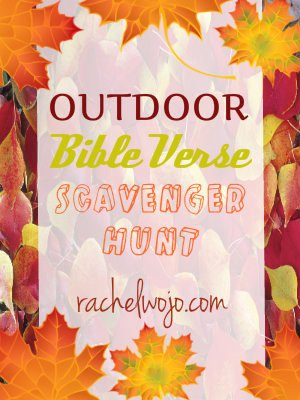 Bible Scavenger Hunt Worksheet Awesome Outdoor Bible Verse Scavenger Hunt