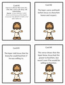Bible Scavenger Hunt Worksheet Fresh Bible Story Scavenger Hunt Jesus Heals the Lepers