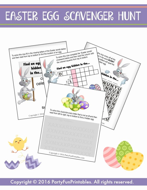 Bible Scavenger Hunt Worksheet Fresh Easter Scavenger Hunt