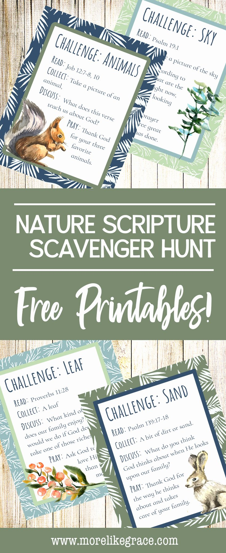 Bible Scavenger Hunt Worksheet New Nature Scripture Scavenger Hunt Family Fun with Purpose