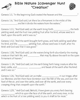 Bible Scavenger Hunt Worksheet Unique 1000 Ideas About Nature Scavenger Hunts On Pinterest