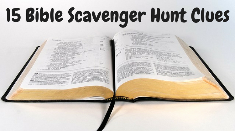 Bible Scavenger Hunt Worksheet Unique 15 Bible Scavenger Hunt Clues