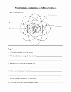 Bill Nye atoms Worksheet New Bill Nye atoms and Molecules