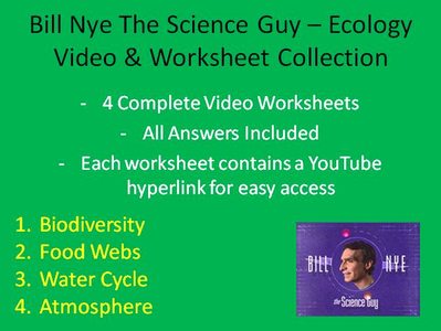 Bill Nye Biodiversity Worksheet Answers Beautiful Bill Nye Video Worksheets Four Ecology Worksheet