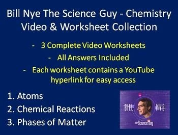 Bill Nye Chemical Reactions Worksheet Luxury 1000 Images About Bill Nye the Science Guy On Pinterest