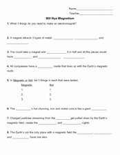 Bill Nye Energy Worksheet Answers Inspirational Weather Worksheet New 745 Bill Nye Teacher Video Worksheet