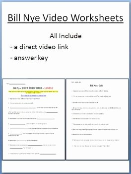 Bill Nye Energy Worksheet Best Of Bill Nye Video Worksheets Four Electricity and Optics
