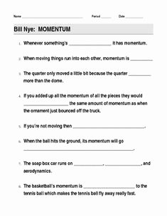 Bill Nye Erosion Worksheet Best Of Video Worksheet Movie Guide for Bill Nye Light and