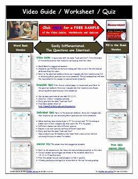 Bill Nye Erosion Worksheet Lovely Differentiated Video Worksheet Quiz & Ans for Bill Nye