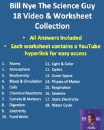 Bill Nye Food Web Worksheet New Bill Nye Video Worksheets Plete 20 Video Worksheet