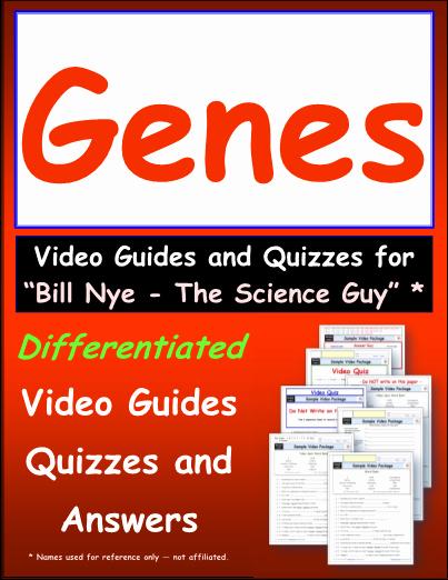 Bill Nye Genes Worksheet Inspirational Starmaterials